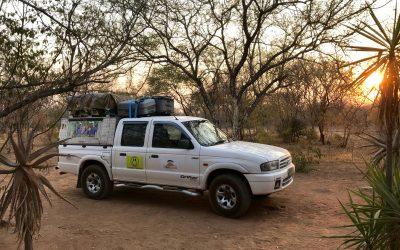 Eindelijk in Gaborone
