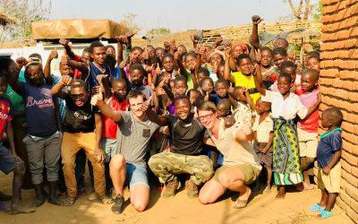 Malawi's bevolking; brede schouders en een nog bredere glimlach