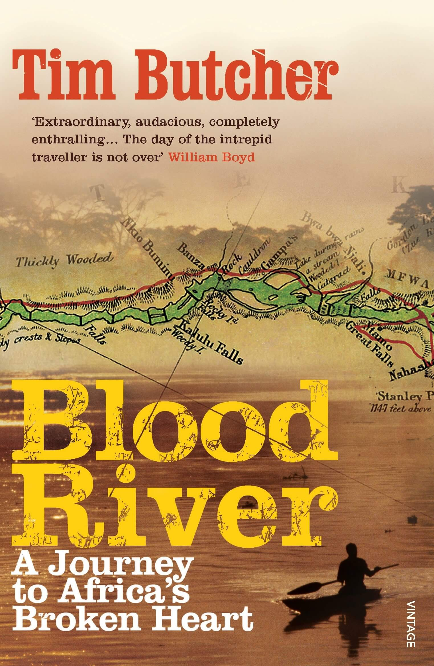 The book Blood River