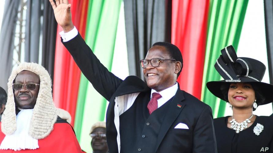New President Chakwera