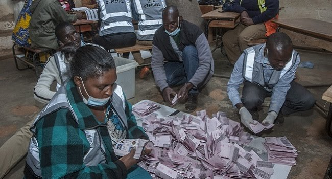 Counting the votes