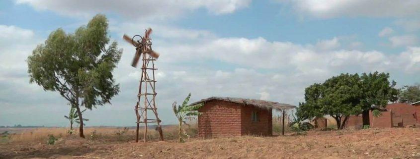 Malawi village windmill