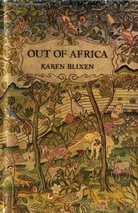 The book Out of Africa