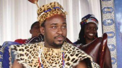Angoni koning