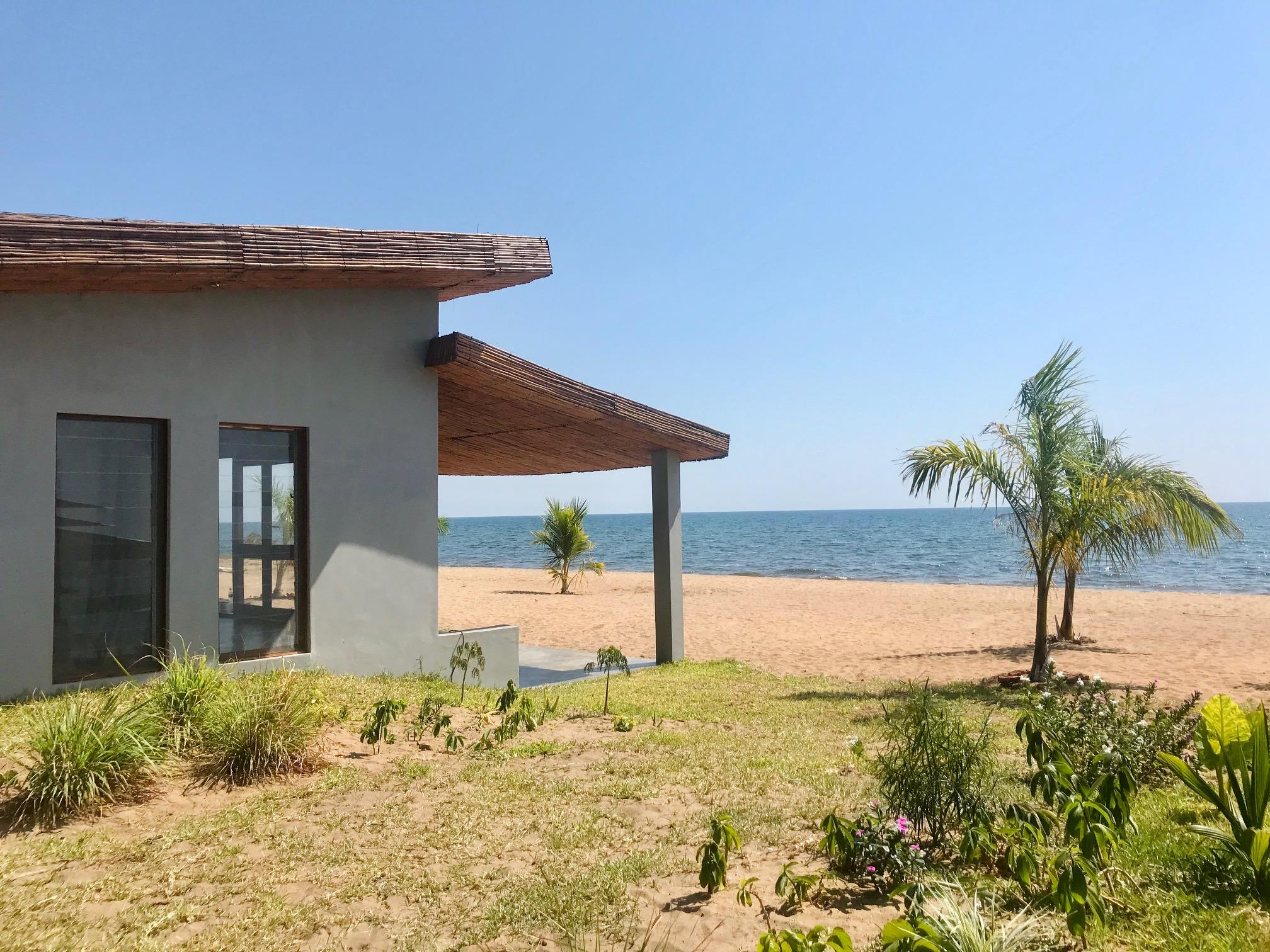 Lodge at Lake Malawi