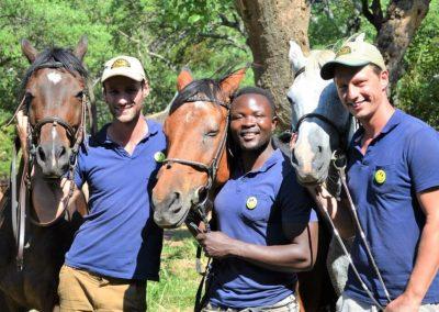 paardrijden met tourism friendly glimlach