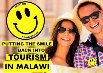tourism friendly ook actief in malawi