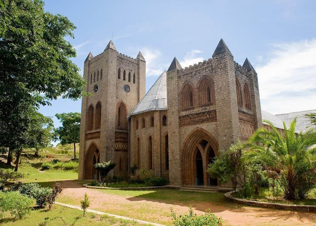 De kathedraal op Likoma Island