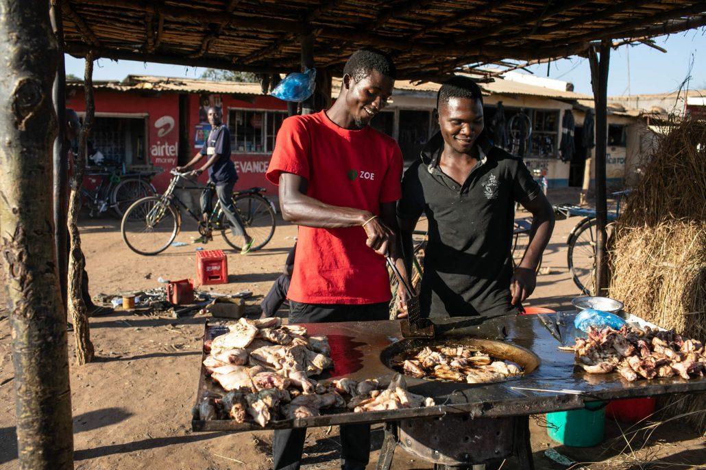 Street food in Malawi